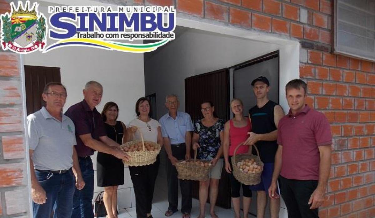 Com recursos da Consulta Popular, o município de Sinimbu inaugurou agroindústrias familiares